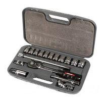 Proline Zestaw kluczy nasadowych 1/2 17el. 10-24mm,  18717