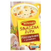 14g smaczna zupa pieczarkowa z grzankami marki Winiary