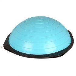 Bosu trener równowagi z linkami  dome advance - kolor niebieski wyprodukowany przez Insportline