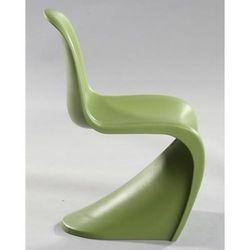 Krzesło dziecięce Balance Junior inspirowane Panton Jr - zielony