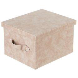 Dekoria pudełko lambert skórzane brown 37x32x23cm -30%, 37x32x23cm