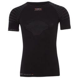 X-bionic  invent summerlight bielizna mężczyźni czarny l koszulki bazowe z krótkim rękawem