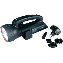Latarka akumulatorowa Ansmann 5102143-510, 6 h Halogen, 200 h LED, Halogen 6 V, 10 W · 4 diody LED, Zasięg �