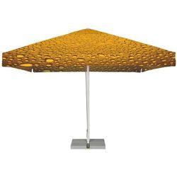 Parasol Ogrodowy kwadratowy 4x4m - Bąbelki Żółto-Brązowe, kup u jednego z partnerów