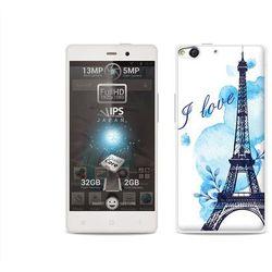 Etuo.pl Fantastic case - allview x1 soul - etui na telefon fantastic case - niebieska wieża eiffla