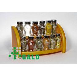 półka z przyprawami 12-el. pomarańczowy połysk 5901832920496 marki Gald