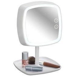Lusterko kosmetyczne OSTIA z funkcją lampki LED i podstawką na kosmetyki, WENKO, B071P55YQZ