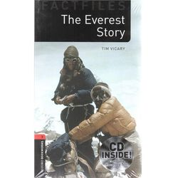 New Oxford Bookworms Library 3 The Everest Story Factfile Audio CD Pack (Oxford University Press)