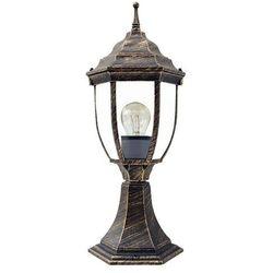 Zewnętrzna LAMPA stojąca NIZZA 8453  IP43 OPRAWA ogrodowa SŁUPEK outdoor złoto antyczne, Rabalux
