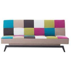 Beliani Sofa do spania - patchwork - kanapa - rozkładana - wypoczynek - leeds