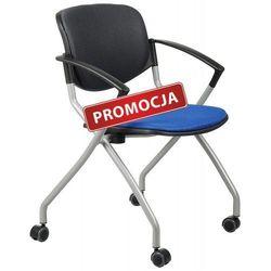 Stema - hn Krzesło konferencyjne hn-3139/niebieski-grafit krzesło biurowe