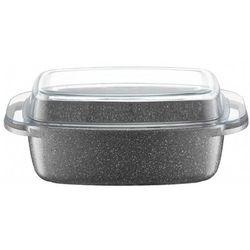 Brytfanna silverstone ze szklaną pokrywką 32 x 21 cm marki Ambition