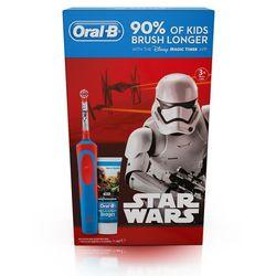Szczoteczka do zębów ORAL-B D12 StarWars + pasta 75ml, towar z kategorii: Pasty do zębów