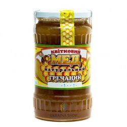Miód Pszczeli Nektarowy Gryczany z Ukrainy, 480 g, 100% Naturalny z kategorii Miody