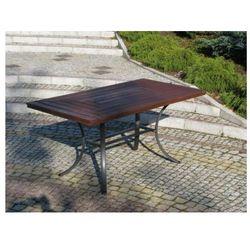 Ogrodowy stół WELLINGTON czarny FSC