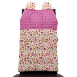 Cuddly Zoo, Księżniczki, Cudly back, Raspberry, oparcie na krzesło, towar z kategorii: Dekoracje i ozdoby dla dzieci