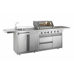 Zewnetrzna kuchnia gazowa PREMIUM | 17,5 + 4,5 kW | 2880x580x(h)1170mm (grill ogrodowy)