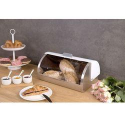Eh excellent houseware Metalowy chlebak na chleb, pieczywo - stal nierdzewna