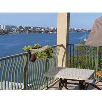 Wisząca doniczka z kieszeniami na balkon lub taras 60 x 65 cm