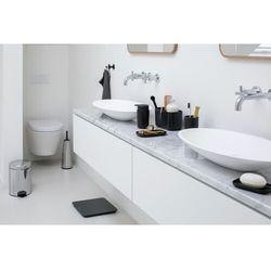 - zestaw łazienkowy renew collection - stalowy - stalowy marki Brabantia