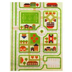 Ivi Dywan miasto zabaw 3d 160 x 230 cm zielony