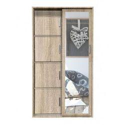 Garderoba z lustrem i szafką na buty Horik - dąb sonoma, MKS 01