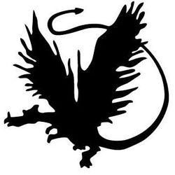 Szablon malarski z tworzywa, wielorazowy, wzór dla dzieci 62 - smok marki Szabloneria