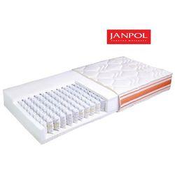 JANPOL NUTA - materac kieszeniowy, sprężynowy, Rozmiar - 180x200, Pokrowiec - Medicott Silverguard WYPRZEDA�