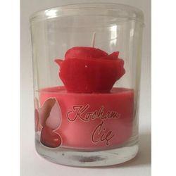Kocham Cię, Róża, świeczka
