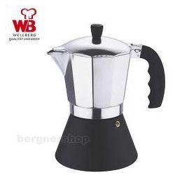 Wellberg Kawiarka kafetierka zaparzacz do kawy  wm-6802 9 filiżanek