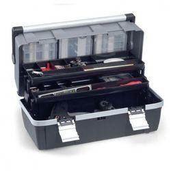 Allit Plastikowa walizka z wysuwanymi półkami mcplus alu c 22