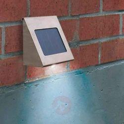Esotec Lampa solarna naścienna shine 102080-01, 1, led wbudowany na stałe, 3.44 lm, 5500 k, ip34 (4260057860
