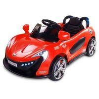 Caretero Toyz Samochód na akumulator dziecięcy Aero czerwony red