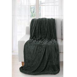 Koc narzuta ricky 220x240 ciemny zielony marki Eurofirany