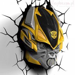 Lampka nocna Transformers Bumble Bee 3D Deco Light