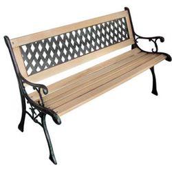 ławka ogrodowa 122 cm marki Vidaxl