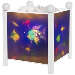 POISSONS ARC-EN-CIEL - Magiczna Lampka / Lampka nocna Biały Wys.19cm, 4366W