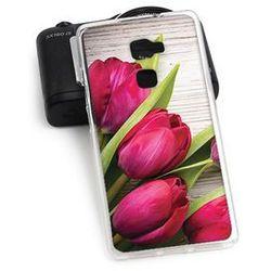 Foto case - huawei mate s - etui na telefon foto case - czerwone tulipany wyprodukowany przez Etuo.pl