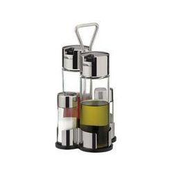 TESCOMA Zestaw stołowy olej/ocet/sól/pieprz CLUB