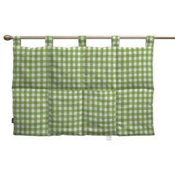 Dekoria Wezgłowie na szelkach, zielono biała kratka (1,5x1,5cm), 90 x 67 cm, Quadro
