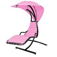 leżak bujany dream pink marki Hecht
