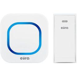 Dzwonek bezprzewodowy '''' wdp-80h2 ''folk'' bezbateryjny, przycisk (kinetyczny), możliwość rozbudowy marki Eura