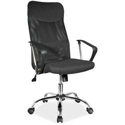 Fotel obrotowy q-025 czarny materiał marki Signal meble