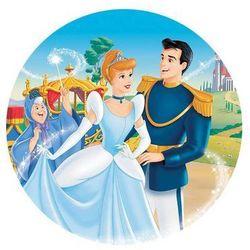 Dekoracyjny opłatek tortowy Princess - Księżniczki - 20 cm - 6