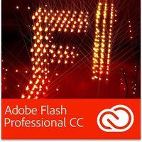 Adobe Flash Professional CC PL EDU Multi European Languages Win/Mac - Subskrypcja (12 m-ce)