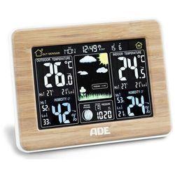 Ade Stacja pogodowa z bezprzewodowym czujnikiem (4260578582339)