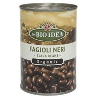 Bio idea Czarna fasola (puszka) bio 400g-  (8717496900197)