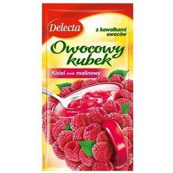 DELECTA 30g Owocowy kubek Kisiel smak malinowy - produkt z kategorii- Galaretki, kisiele, budynie