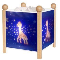 TROUSSELIER Magiczny lampion Żyrafa Sophie Mleczna droga kolor naturalny