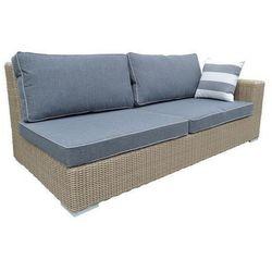 :: sofa ogrodowa lewostronna cloud z poduszkami marki Miloo